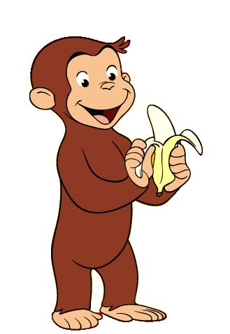 Curious George! He is just to darn cute!