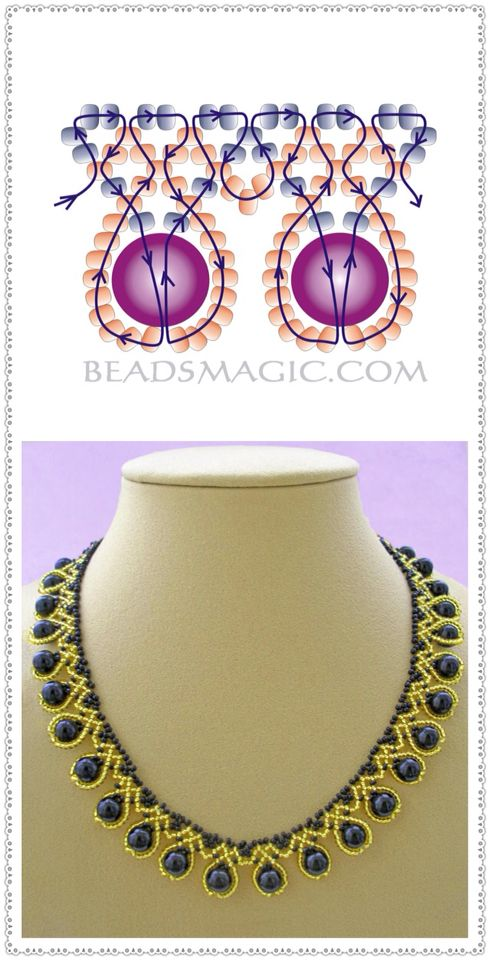 Halsband   – boncuk