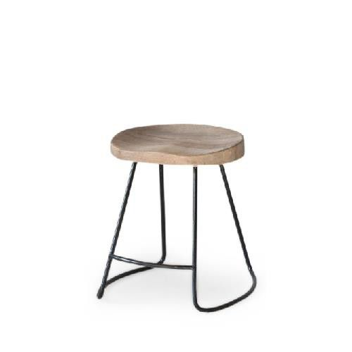 kruk als stoel stilte werkplek  (klein) stoere-kruk-staal