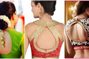 Looking for the last saree blouse back neck designs? Checkout our latest collection of the saree blouse back neck designs. Click here to read more.