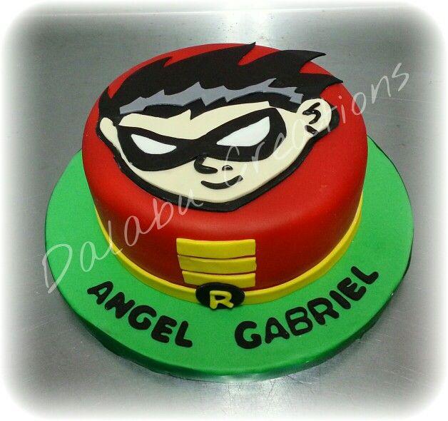 Robin Teens Titans Go Cake Dalabu Creations Cakes