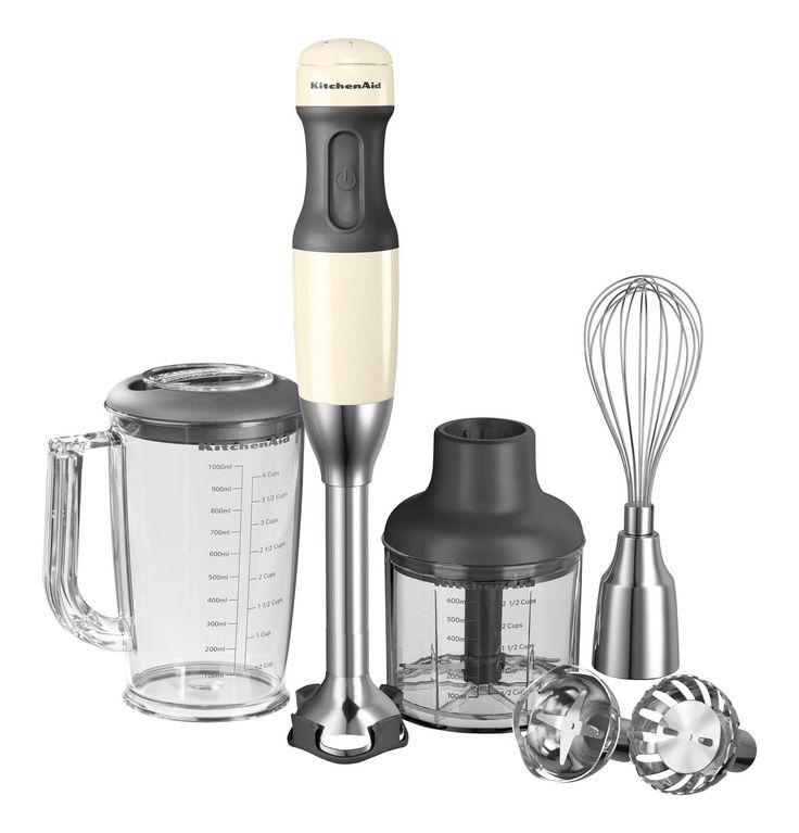 KitchenAid Artisan Stabmixer-Set 6-teilig creme 5KHB2571