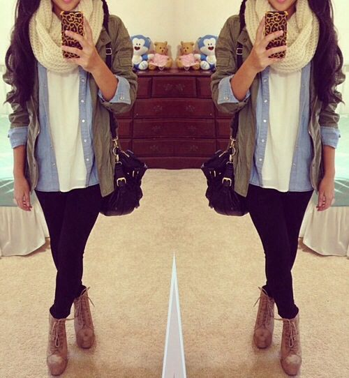 omg i need to wear this soon. Love the layers