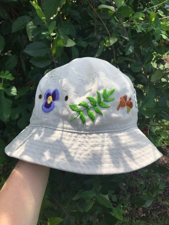 Custom Embroidered Bucket Hat Embroidered Bucket Hat Custom Bucket Hats Bucket Hat Fashion
