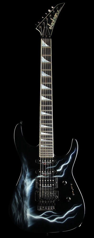 JACKSON SL-1 Soloist Electric Guitar Rosewood Fretboard Lightning Sky | Reverb