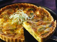 Découvrez la recette La tarte au poireaux délicieuse sur cuisineactuelle.fr.