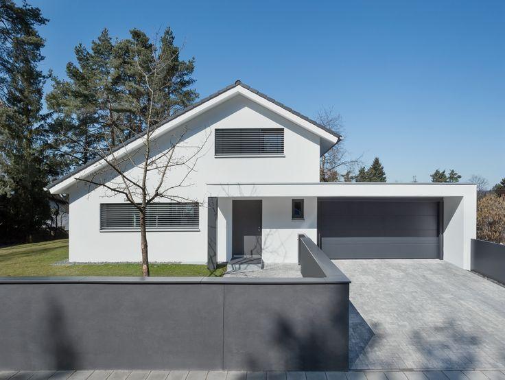 Lieblich Moderne Huser Satteldach Mit Garage Emphitcom.