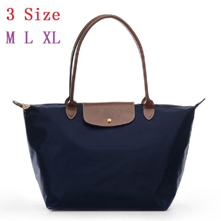 2016 France Popular Top handle Bags Designer Handbags High Quality Nylon Foldable Women Totes bolsos sac