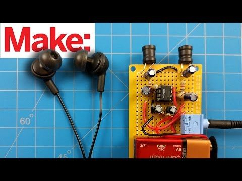 Weekend Project: Sample Weird Sounds from Electromagnetic Fields - YouTube