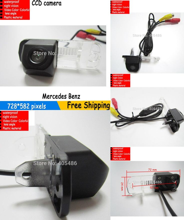 [Visit to Buy] parkung HD CCD Car Rearview Backup Reverse Camera for Mercedes Benz C-Class W203 E-Class W211 CLS-Class 300 W219 R350 R500 ML350 #Advertisement