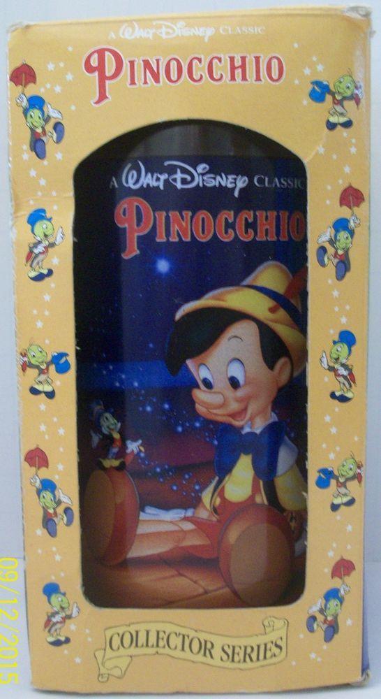 Pinocchio Burger King Walt Disney Collector Series Movies Glass No. 6 Coca-Cola #CocaCola