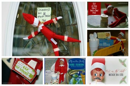 Elf on the Shelf: A New Idea and Photo Every Day