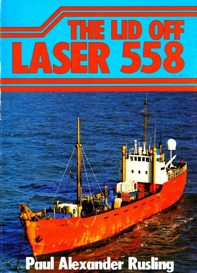Book cover: 'The Lid Off Laser 558' published 1986