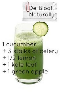 De-bloat Juice Recipe by bestforjuicing - i love the simple juice recipes - quick, delicious and health powerhouses. These sorts of natural wonders make me feel amazing instantaneously!