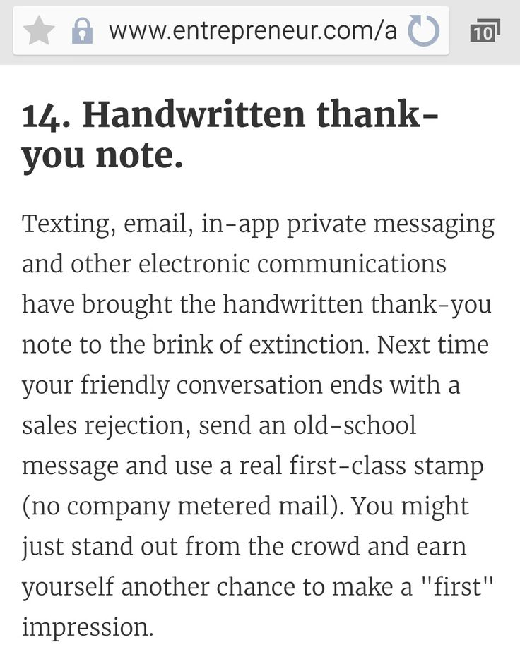 Thank You Email After Rejection Amazing Handwritten Thankyou Notetexting Email Inapp Private Messaging .