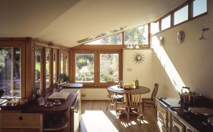 Casa Architects Bath - single storey extension interior - listed