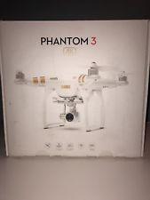 DJI Phantom 3 Quadcopter Drone with 4K Camera and Remote Controller White