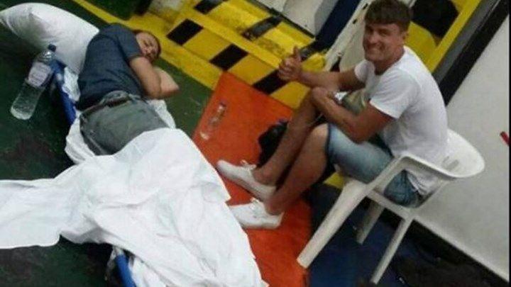 Η ΠΟΕΔΗΝ καταγγέλλει: Τουρίστας διακομίστηκε τραυματισμένος σε... γκαράζ πλοίου - ΦΩΤΟ