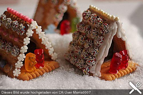 Mini - Knusperhäuschen, ein raffiniertes Rezept aus der Kategorie Weihnachten. Bewertungen: 213. Durchschnitt: Ø 4,7.