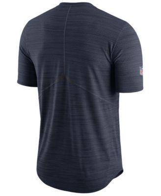 Nike Men's Houston Texans Player Top T-shirt - Blue XXL