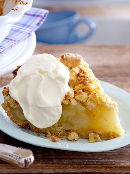 Knusprig und fruchtig zugleich: Apple-Walnut-Crumble