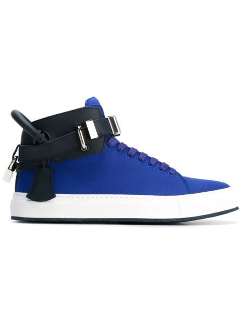 Shop Buscemi buckled hi-top sneakers in Eraldo from the world's best independent boutiques at farfetch.com. Shop 400 boutiques at one address.