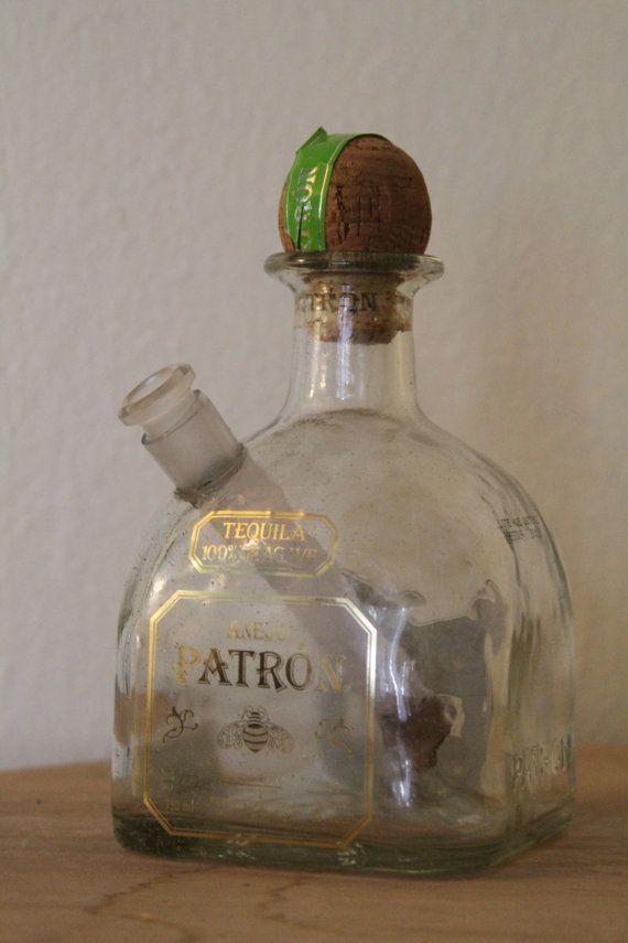 Patron Bong Cannaboard Liquor Bottle Crafts Patron