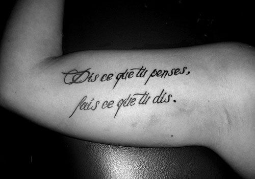 Best 25+ Simple Quote Tattoos Ideas That You Will Like On