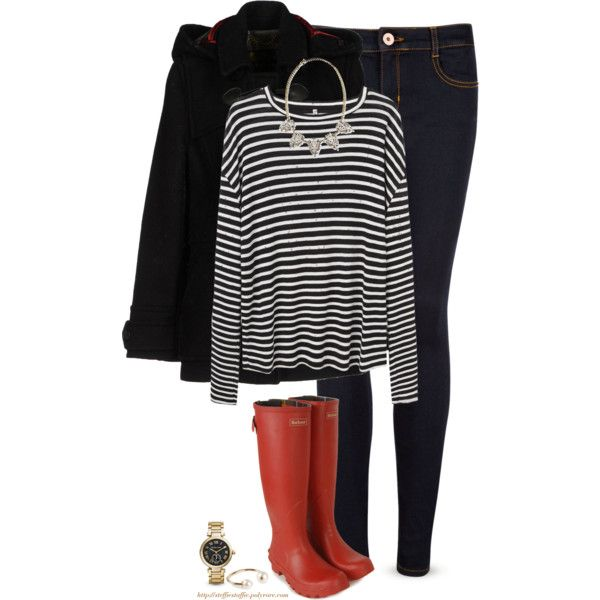 Barbour boots & coat by steffiestaffie on Polyvore featuring R13, Barbour, Ted Baker, Michael Kors, Panacea and Pieces