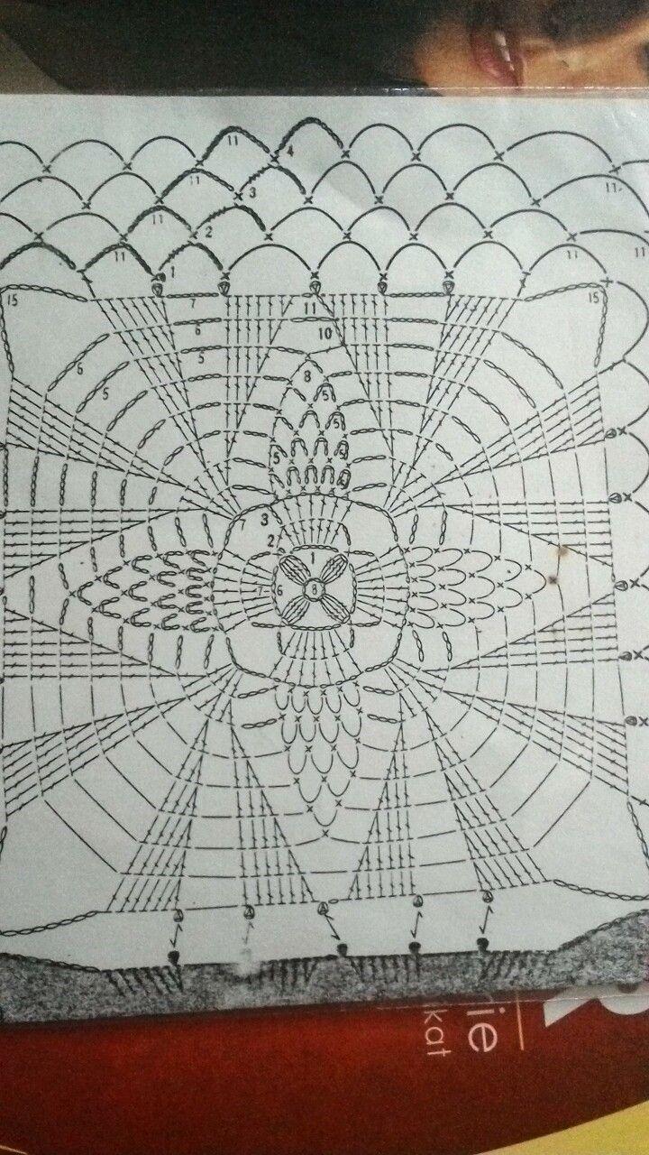 Amazing Rechteck Muster Häkeldeckchen Elaboration - Decke Stricken ...