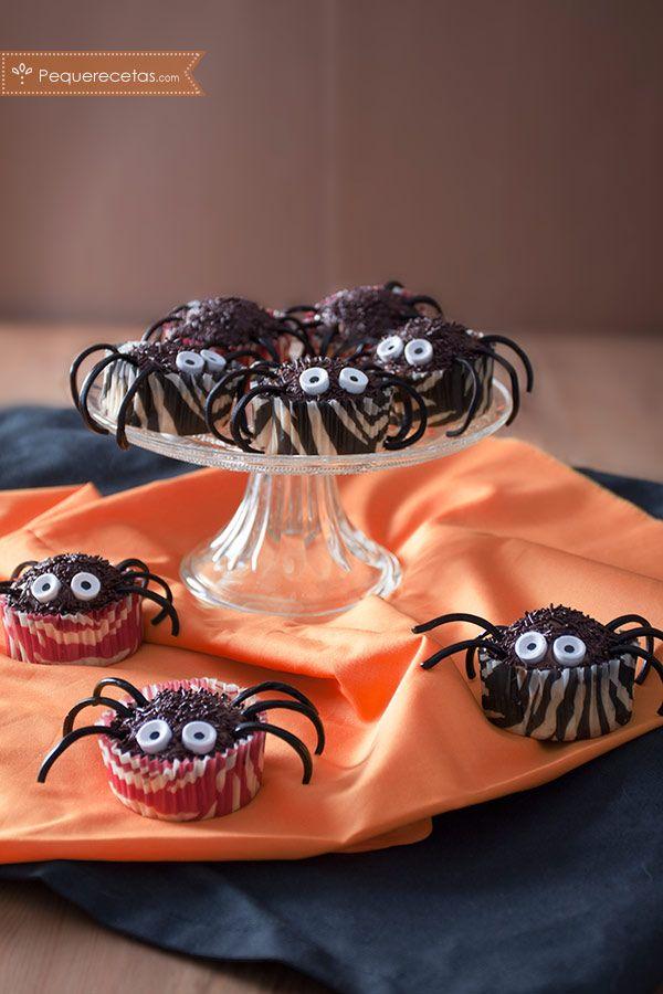 Cupcakes de Halloween ¡terroríficante ricos!