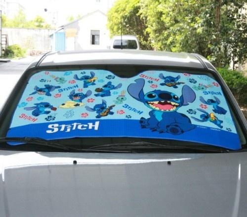 Lilo & Stitch Auto Car Windshield Sun Shade REFLECTIVE                                                                                                                                                                                 More