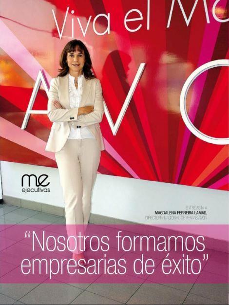 Entrevista a Magdalena Ferreira Lamas, Directora Nacional de ventas de AVON, en…