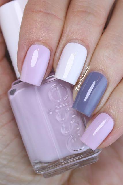 Essie Skittle Manicure