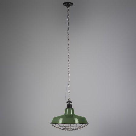 Lámpara colgante STRIJP L verde #interiorisme #decoracion #iluminacion