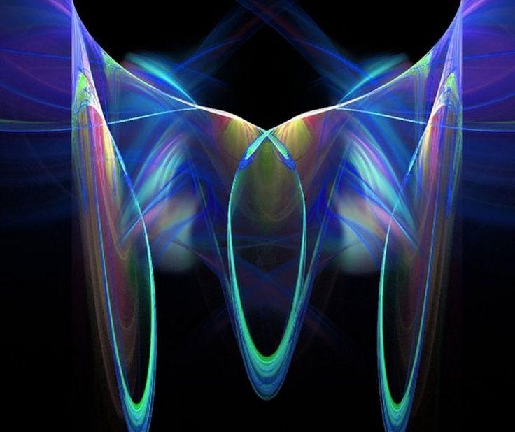 Digital Art/Desktop Wallpaper/Electric Blue