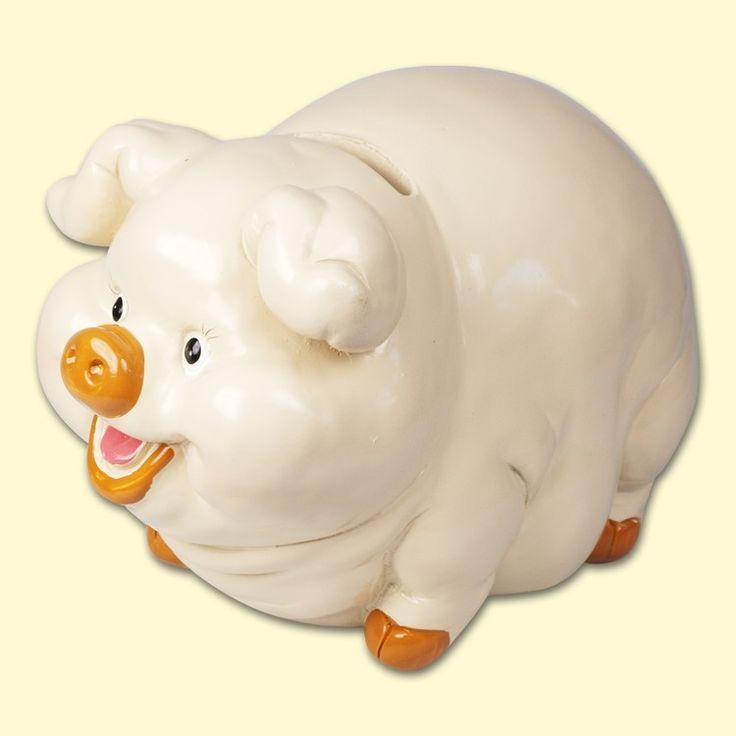 "SHOP-PARADISE.COM:  Spardose ""Schwein"", Höhe - 16 cm (P2001) 8,99 €"