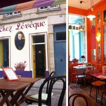 """75005 """"Chez Leveque"""" rue Saint Julien le Pauvre, sur TripAdvisor : consultez 140 avis sur Chez Leveque, noté 4,5 sur 5 sur TripAdvisor et classé #700 sur 17020 restaurants à Paris."""