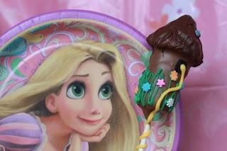 Tangled (aka Rapunzel) Cake Pop Tutorial by As The Kitchen Burns