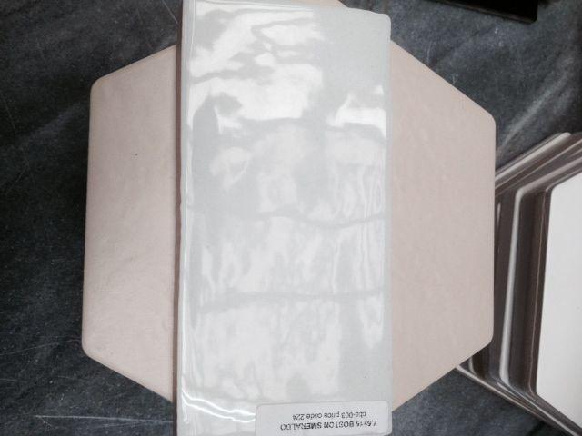 Pale green boston self tile from artedomus