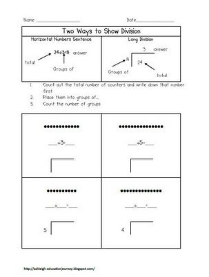 263 best Math Division images on Pinterest School, DIY and Cool - multiplication and division worksheet