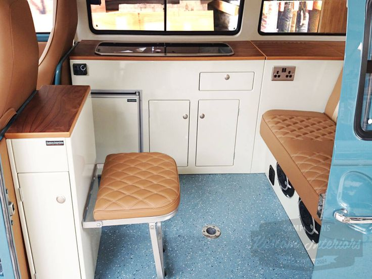 Camper Interiors - VW Camper Interiors - Camper Conversions - Kustom Interiors Cornwall
