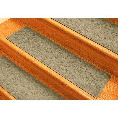 Bungalow Flooring Aqua Shield Camel Fall Day Stair Tread