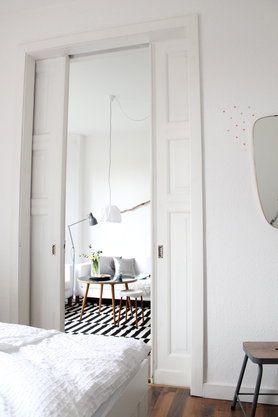 geliebte Schiebetür'flügeltür #altbau #interior #flügeltür #inspiration