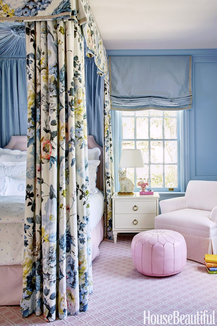 228 best bedrooms images on pinterest bedrooms guest bedrooms color was the name of the game for this dramatic makeover feminine bedroombedroom