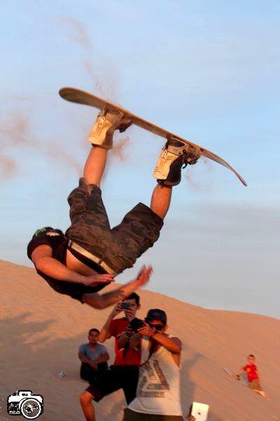 Sand Backflip por el mexicano Richy Walker!