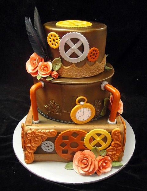 Food Punk Dylan S Candy Bar A Grown Up S Candy Store: 29 Best Images About Steampunk Wedding Cakes On Pinterest
