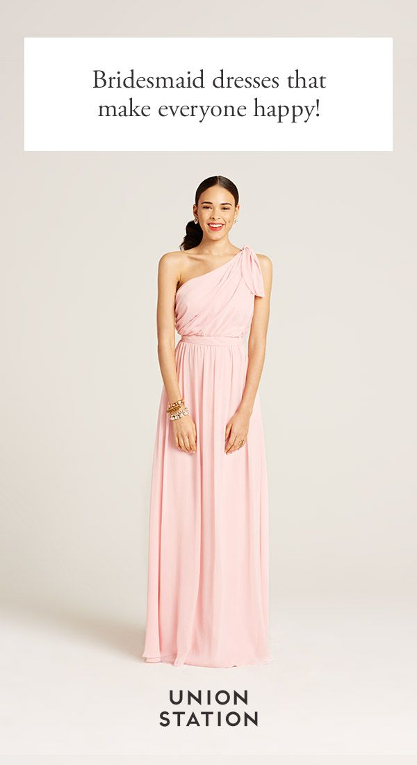 Rent or Buy. Mix & Match. Make your bridesmaids happy with endless options. Request free fabric swatches and see our shades in person! Union Station: Bridesmaid dresses you can rent or buy.