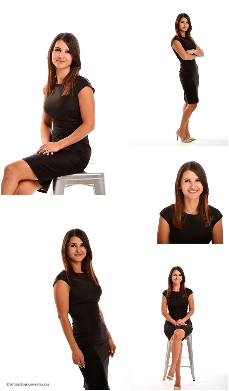 Expression, posing and body language examples for business headshots and beyond