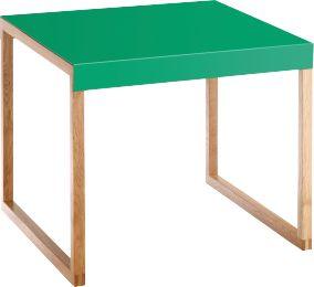 Kilo table dappoint en métal et chêne massif